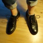 de voeten van Anne