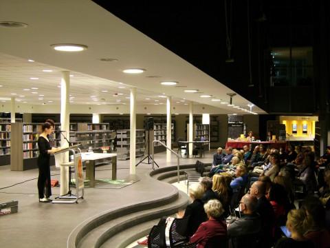 Na de pauze nam Helena Hoogenkamp het publiek mee naar Zuid-Afrika.