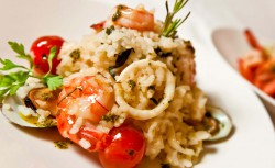 Risotto-seafood
