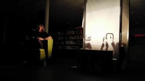 Na de proloog ging het licht uit en de spots aan, en brachten onze VIP's Marthe en Rachel het verhaal fantastisch tot leven.