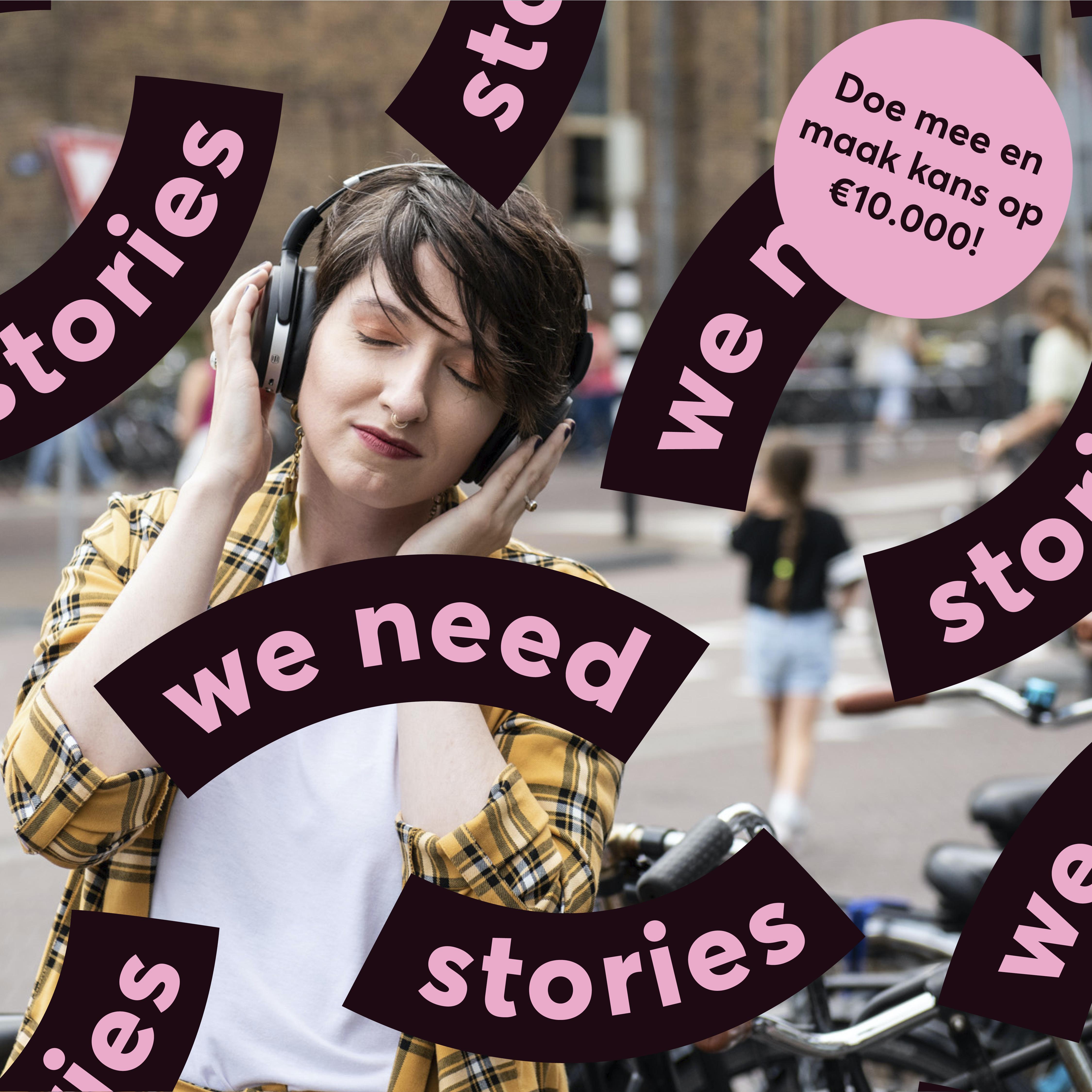 Doe mee aan de Internationale Verhalenwedstrijd!